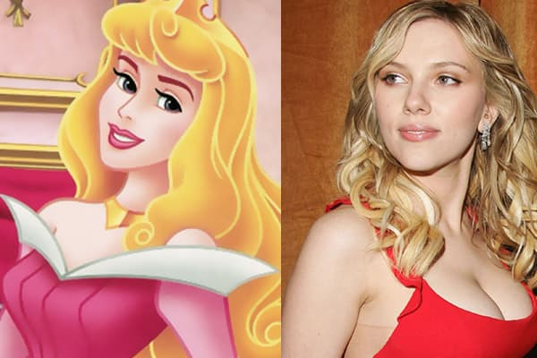 Sleeping Beauty - Scarlett Johansson