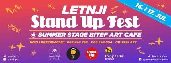 Letnji Stand Up Fest
