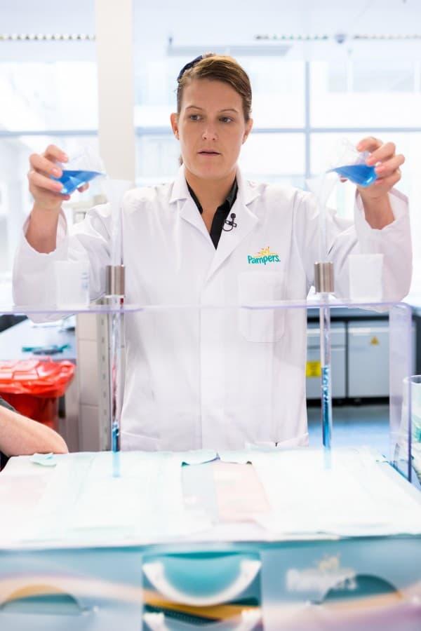 Lab product testing