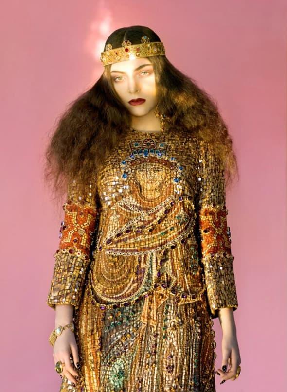 Pravo ime 17-ogodišnje novozelanđanke Lorde je Ella Marija Lani Yelich-O'Connor. (foto: Wild)