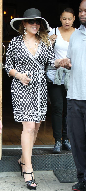 Mariah Carey - osmeh uprkos svemu (foto: Us weekly)