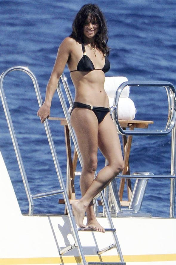 I glumica Michelle Rodriguez, kao i brojne poznate ličnosti, ove godine odmarala se na najpoznatijem Balearskom ostrvu - Ibici.