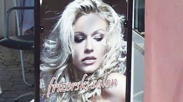 Reklama zbog koje tuži frizerski salon u Čačku (foto: Alo)