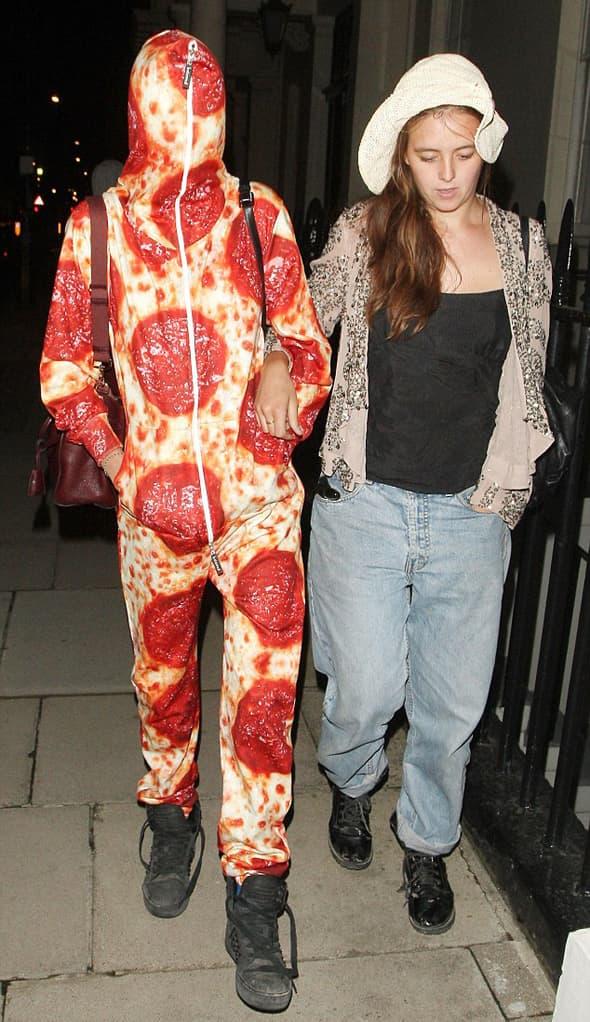 Parče pice bez kečapa i majoneza! :) (foto: Dailymail)