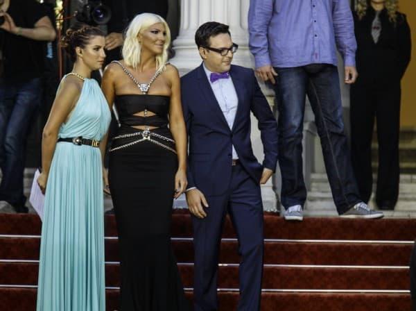 Sa voditeljima manifestacija (foto: Anadolu)