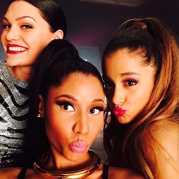 Jessie J, Nicki Minaj i Ariana Grande objavile su zajednički selfie.