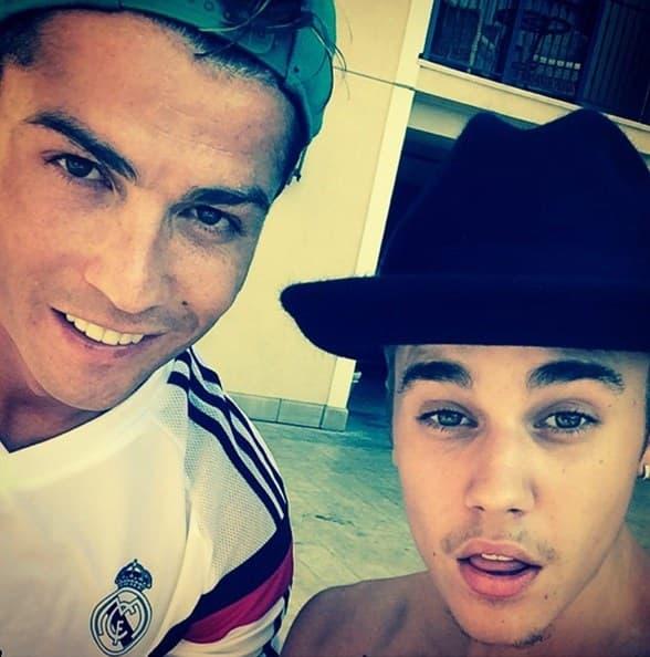 Sem što se potukao sa Bloomom, Bieber se ove nedelje družio sa fudbalskom legendom Christianom Ronaldom.