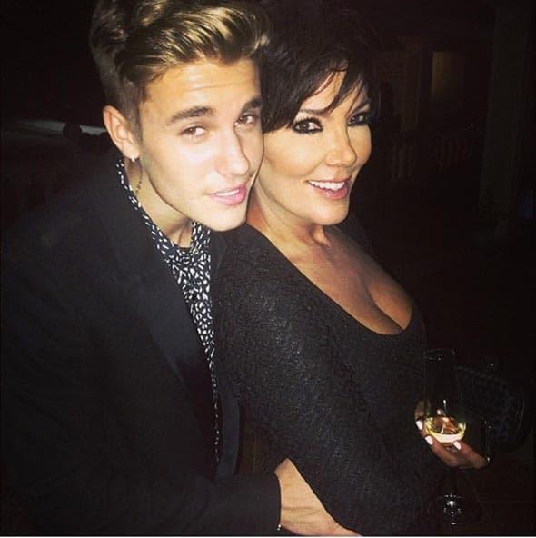 Justin Bieber uspeo je da pridobije naklonost alfe i omege Kardashian klana, mame Kris.