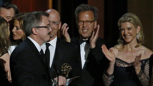 Kreator serije Breaking Bad, Vince Gilligan primio je nagradu sa ekipom serije