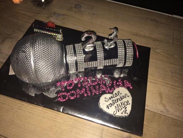 Milica Pavlović postavila je fotografiju svoje rođendanske torte, kojom su je prijatelji iznenadili!