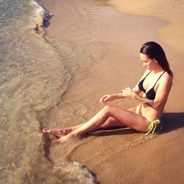 Uživanje na plaži (foto: Instagram.com)