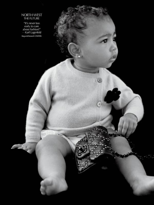 Njena prva modna kampanja  (foto: Michael Avedon/CR Fashion Book)