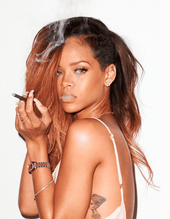 Kada je zakoračila na svetsku muzičku scenu Robyn Rihanna Fenty zadržala je samo ime Rihanna. (foto: TerryRichardson)