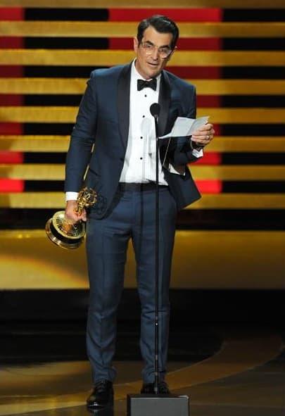 Ty Burrell na sceni 66. dodele Emmy nagrada (foto: Emmy/Invision/AP)