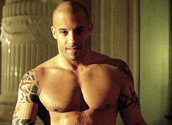 Njegovo pravo ime je Mark Sinclair. Postao je Vin Diesel tako što Vin preuzeto od Vincent, prezimena njegovog očuha, a Diesel su mu dodelili prijatelji zbog njegove ludačke pozitivne energije. (foto: MTV)