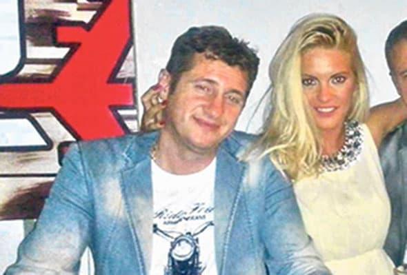 Željko sa voditeljkom Grand televizije, zbog koje ga je Vesna ostavila. (foto: Kurir)