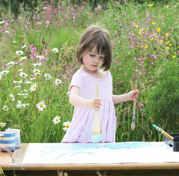 Petogodišnja Iris stvara remek-dela!