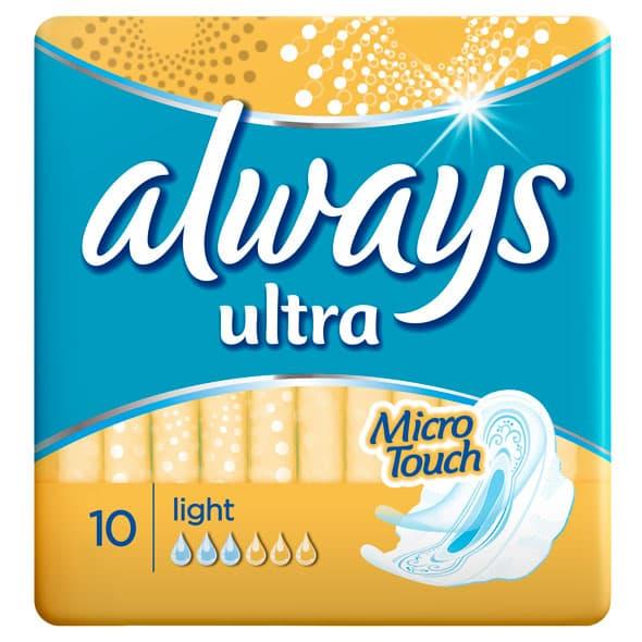 Always Ultra ulošci pružaju i do 100% zaštite od curenja, čak i ako ste okrenuti naopačke!