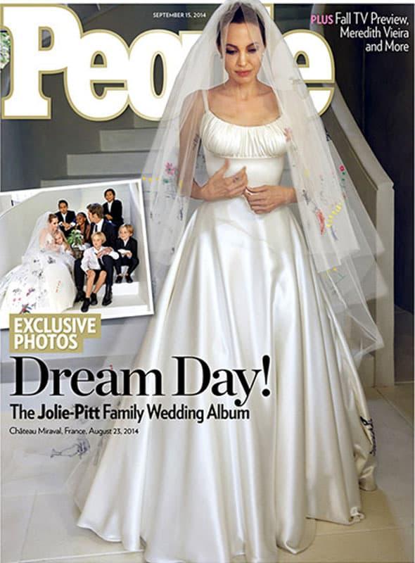 Prve fotografije s venčanja! (foto: People)