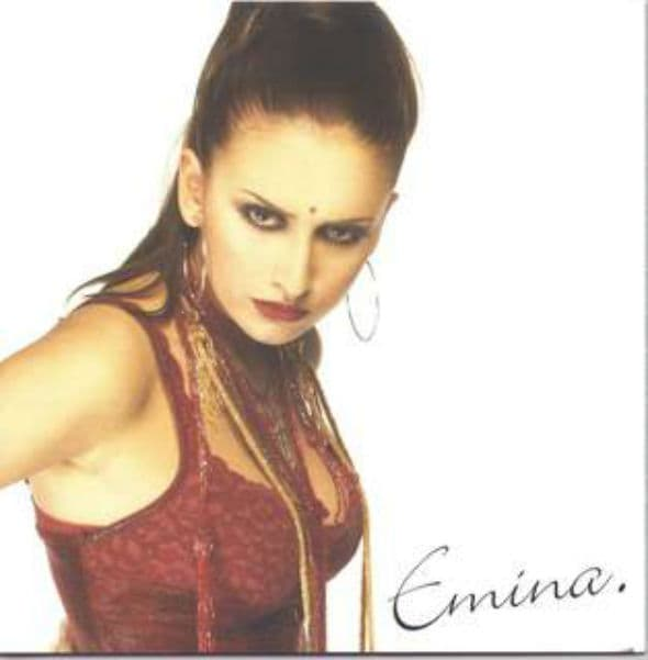 Emina kao protagonistkinja neke indijske serije (foto: Facebook)