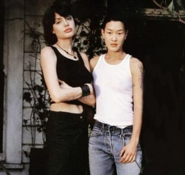 Angelina i Jenny iz vremena kada su bile u ljubavi! (foto: DailyMail)