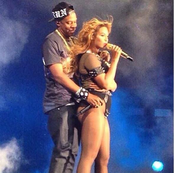 Jay Z na koncertu u Parizu otkrio da je Beyonce trudna! (foto: Instagram)