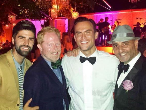 Zvezda serije 'Modern Family' prisustvovao je Jacksonovom venčanju! (foto: Instagram)