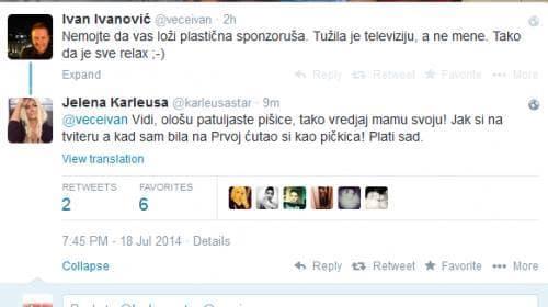 ivanovic tviter