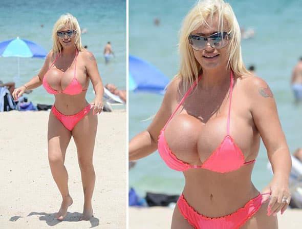 Potrošila je pola miliona dolara da izgleda ovako! (foto: Twitter)