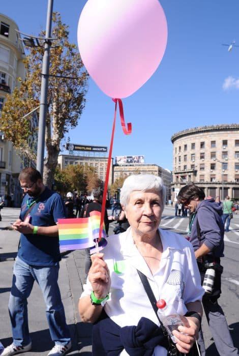 Baka Ljiljana kaže da nije kukavica i da je oduvek podržavala manjine! (foto: 24sata)