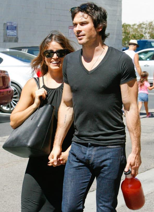 Glumac i njegova devojka očigledno su fanovi seksi pomagala! (foto: DailyMail)