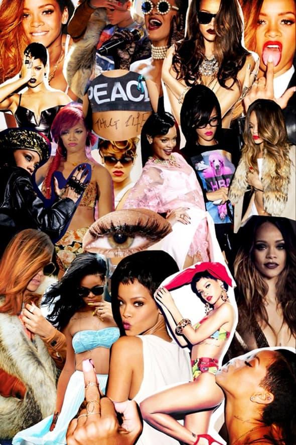 Kako da i ti izgledaš kao Rihanna? (foto: Tumblr)