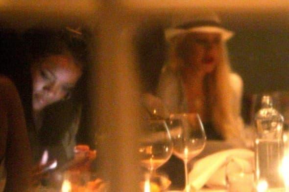 Zajednička večera kao najava dueta? (foto: Twitter)