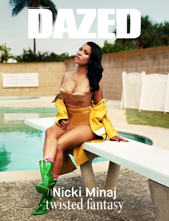 Nicki za Dazed (foto: Fashiongonerogue)
