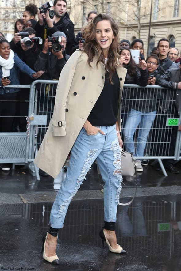 Izabel Goulart (foto: Vogue)