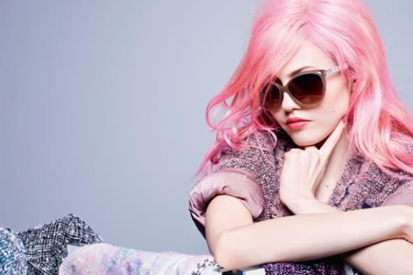 Charlotte Free za Chanel (foto: Tumblr)