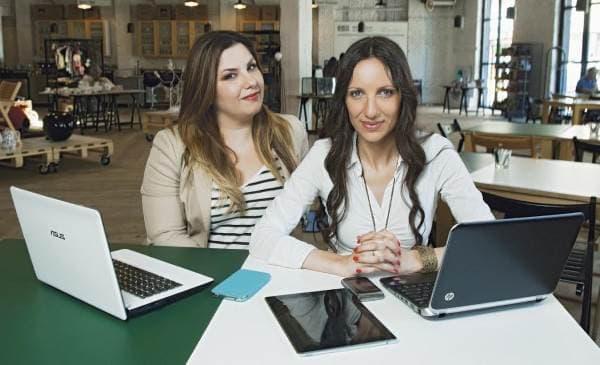 Ivanka Rendulić, urednica sajta Tracara.com i Dragana Vukajlović Krstović, vođa projekta