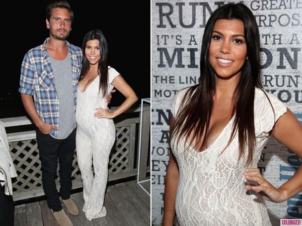 Kourtney Kardashian je u 6. mesecu trudnoće! (foto: Celebuzz)