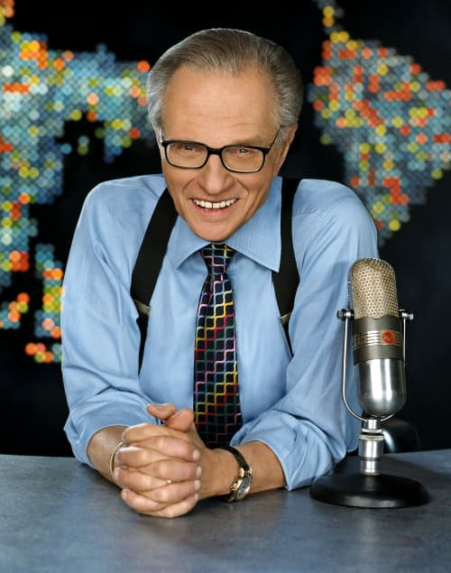 Larry King (foto: CNN)