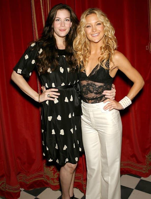 Liv Tyler & Kate Hudson (foto: Wenn)