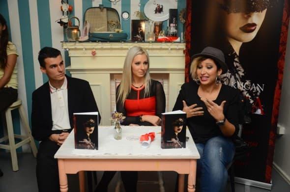 Tamara Kučan sa gostima (foto: Ljiljana Božović)