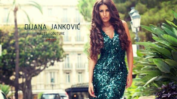 Jedan od modela Dijanine prve modne kolekcije! (foto: Facebook)