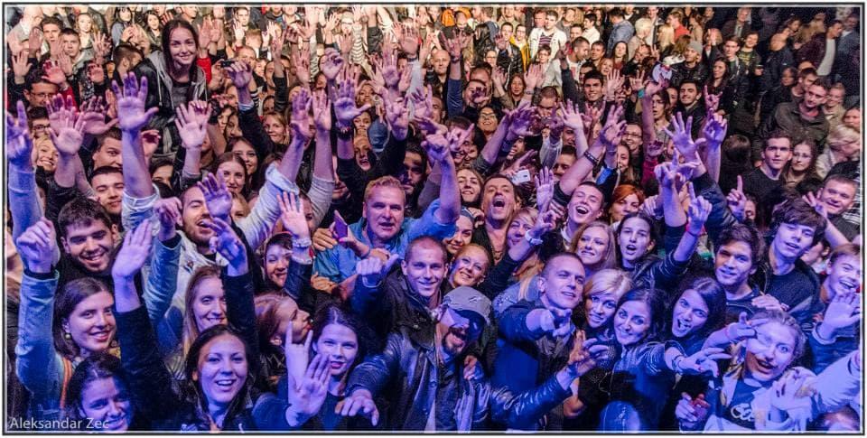 Fanovi uzeli aktivnu ulogu u kreiranju spota! (foto: Aleksandar Zec)