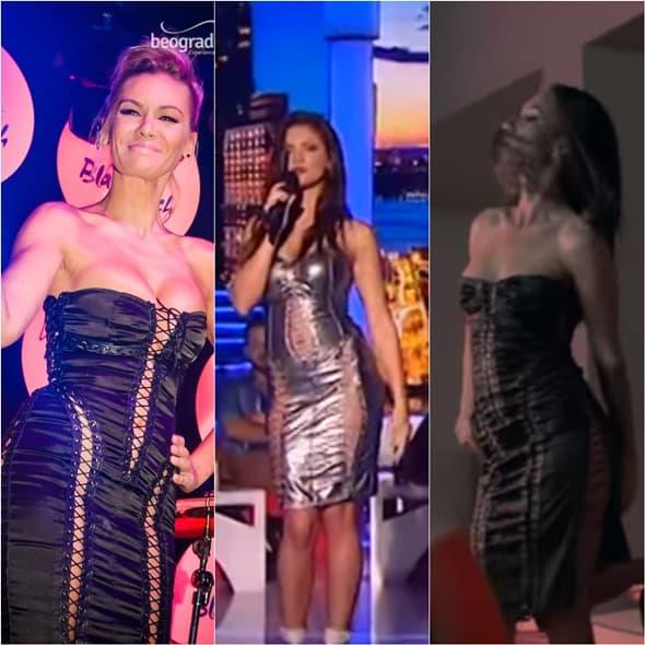 Tri pevačice, ista haljina, kojoj bolje stoji?