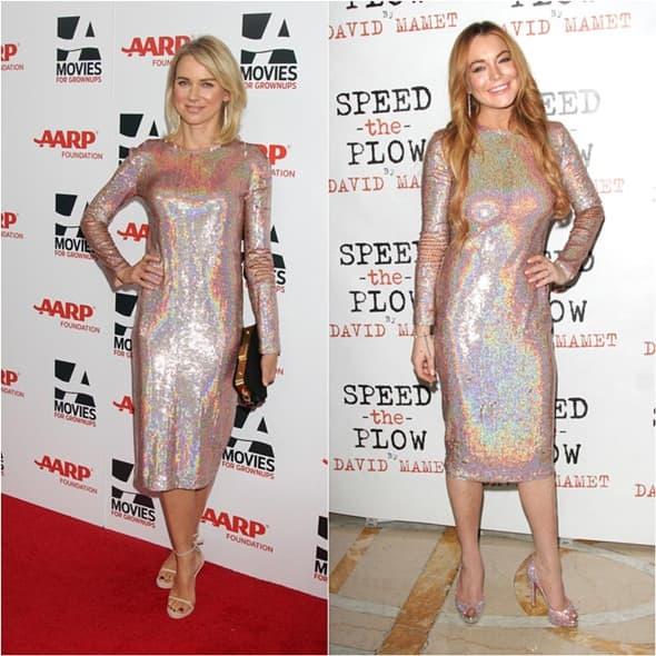 Kojoj bolje stoji ova haljina (foto: yahoo)