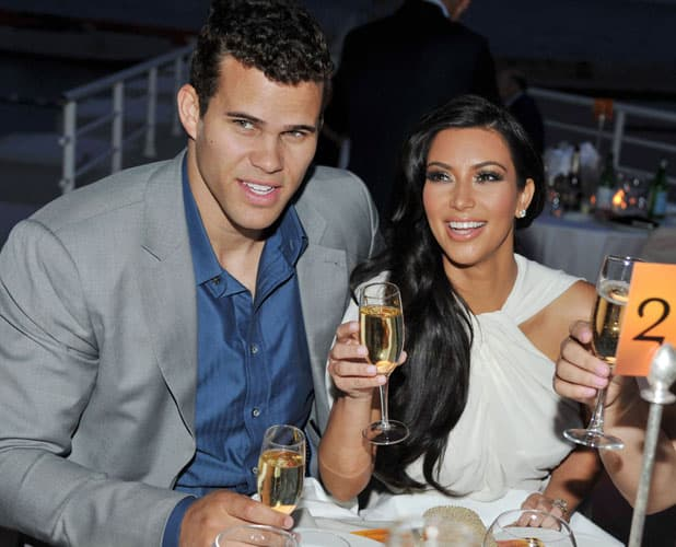 Kim i Kris iz vremena bračne sreće... (foto: wenn)