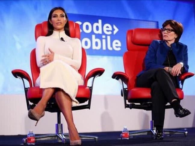 Kim je zasigurno imala svašta da kaže na temu društvenih mreža. (foto: Facebook)