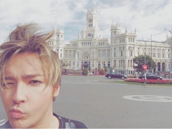 Milan u Madridu foto: facebook