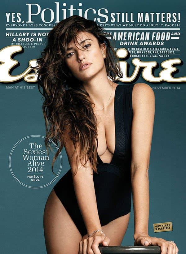 Prelepa glumica na naslovnoj strani časopisa Esquire (foto: Esquire.com)