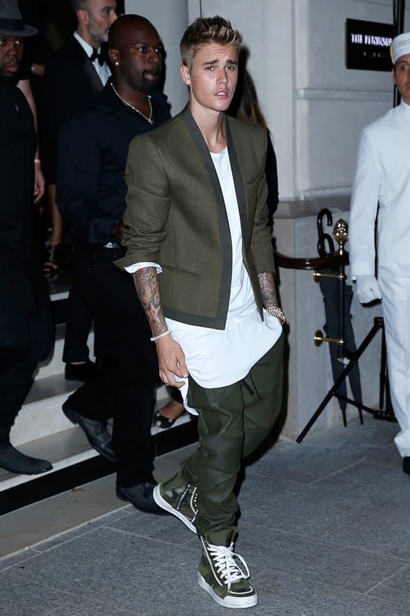 Pop zvezda Justin Bieber  (foto: elle)